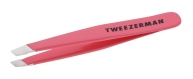 Mini Slant Tweezer Geranium