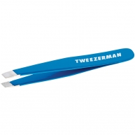 Mini Slant Tweezer Bahama Blue